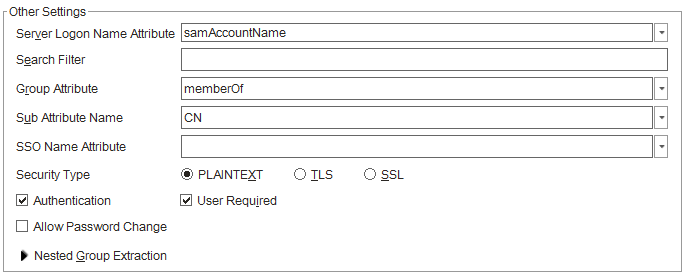 ldap search filter